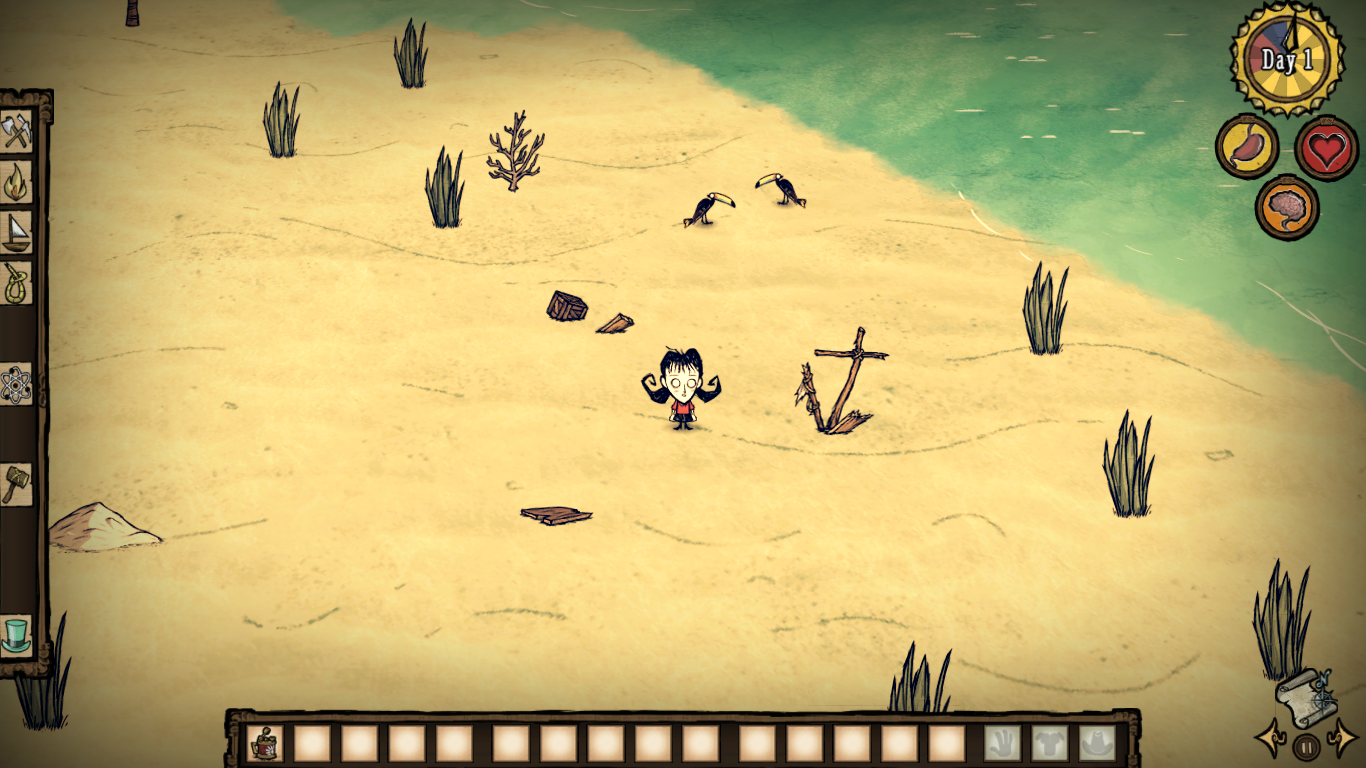 don't starve shipwrecked gameplay