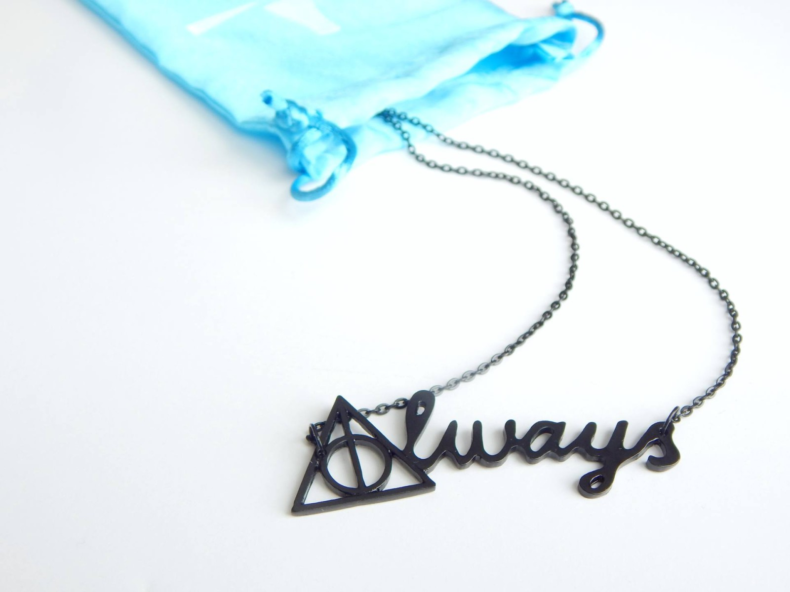 Gamer Girl Monthly March Box Harry Potter Snape Always Necklace