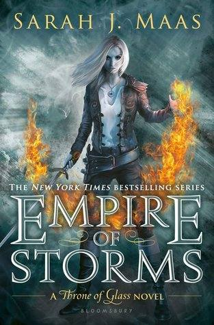 Empire of Storms US cover revealed Throne of Glass Sarah J Maas
