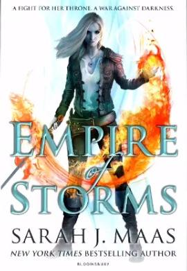 Empire of Storms UK Cover revealed Throne of Glass Sarah J Maas