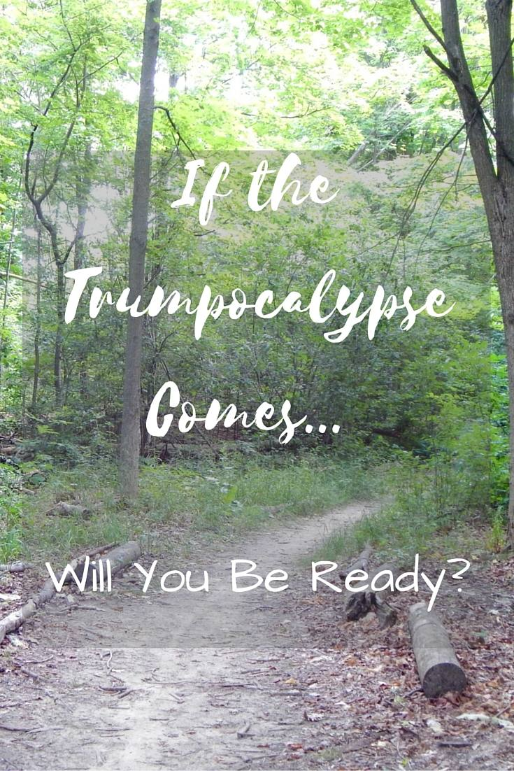 If the Trumpocalypse Comes Will You Be Ready-