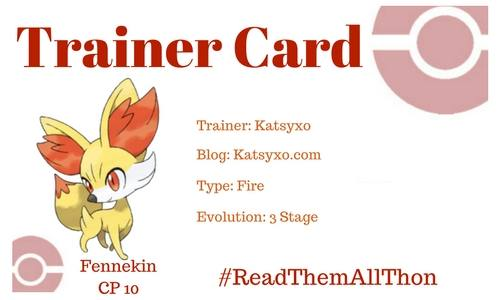 Katsyxo #ReadThemAllThon Trainer Card