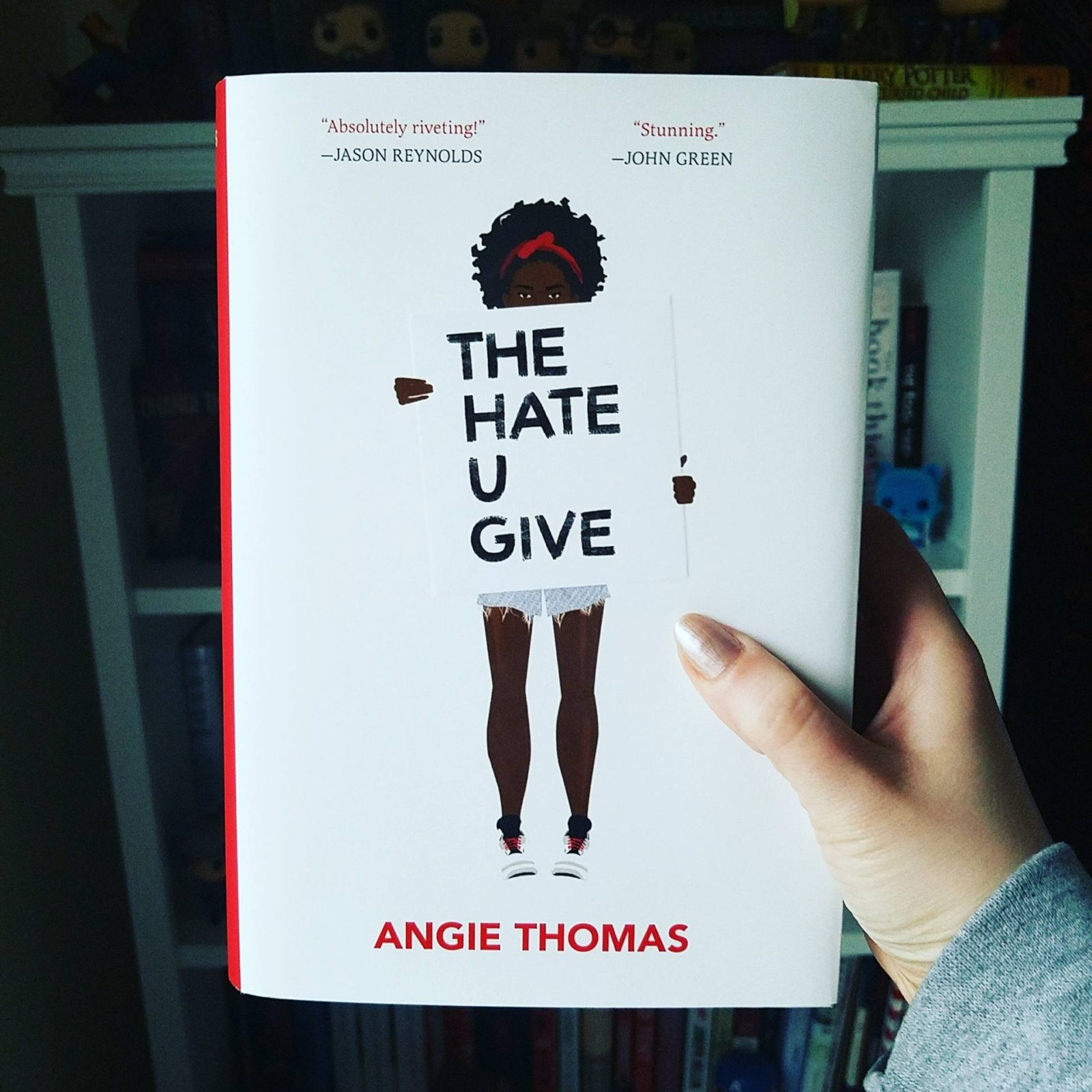 Diversely Booked The Hate U Give Angie Thomas Review