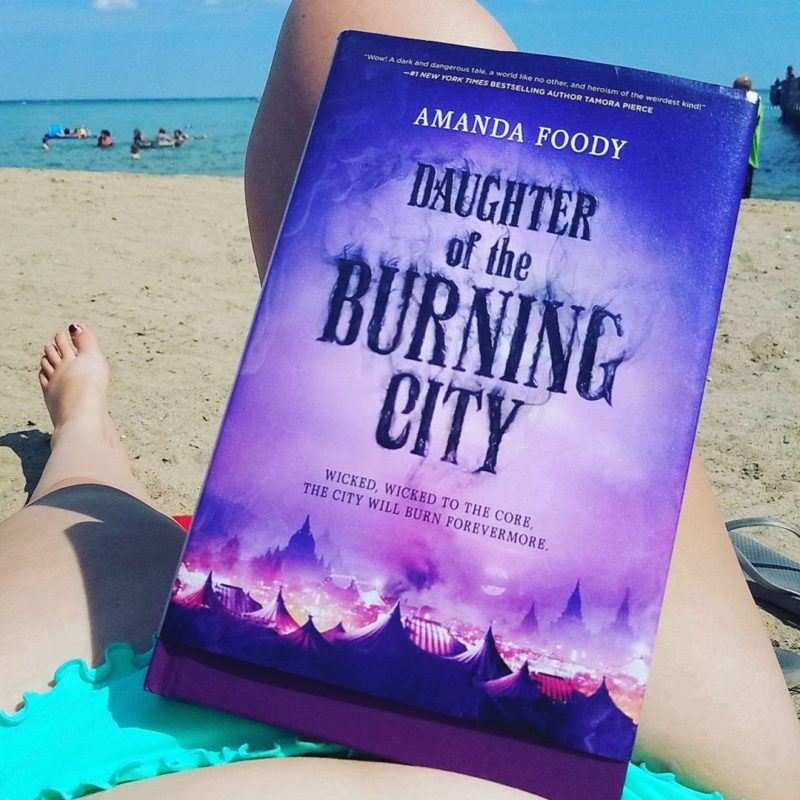 book review Daughter of the Burning City