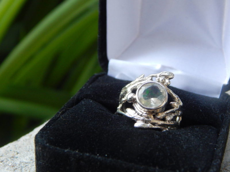 Witchy Opal Engagement Ring